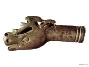 14 Навершие рукояти кинжала в виде головы оленя