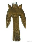 6 Трехголовая фигура летящей птицы