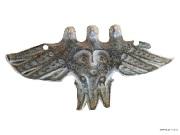 8 Трехголовая птица с личиной на груди