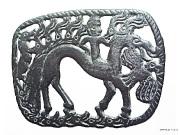 Богиня-всадник на коне-лосе